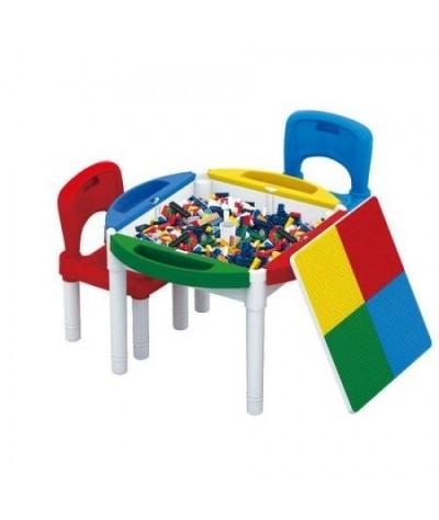 Masa Lego cu 2 scaune